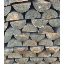 Demi-lisses en bois - Traitées à coeur