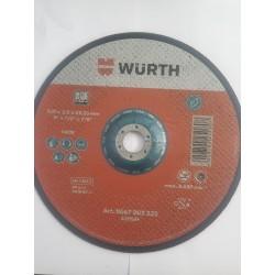 Disque de coupe Wurth 230 x 3.2 x 22.23