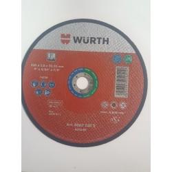 Disque de coupe Wurth  230 x 2 x22.23