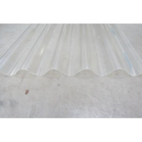 Tôle ondulée polyester